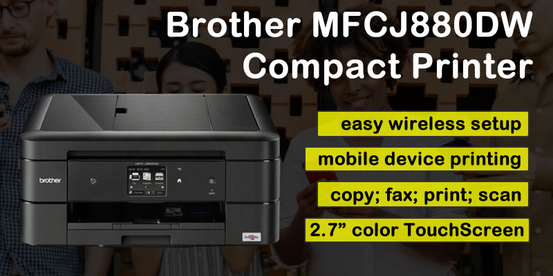 Brother MFCJ880DW printer
