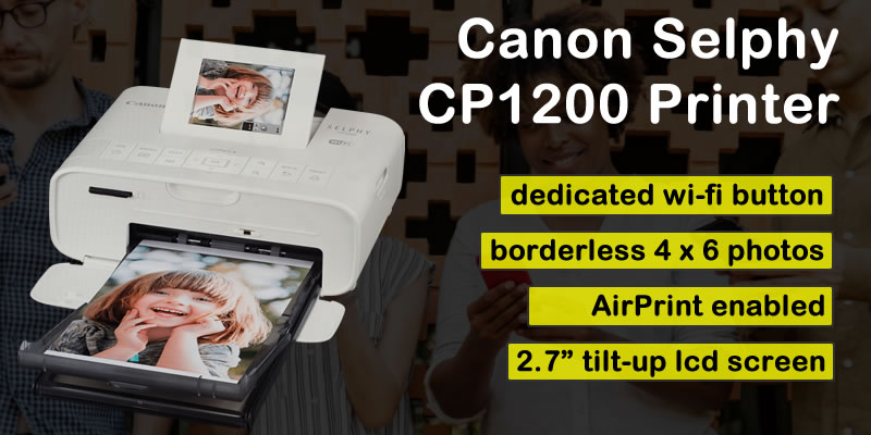 Canon Selphy CP 1200 printer