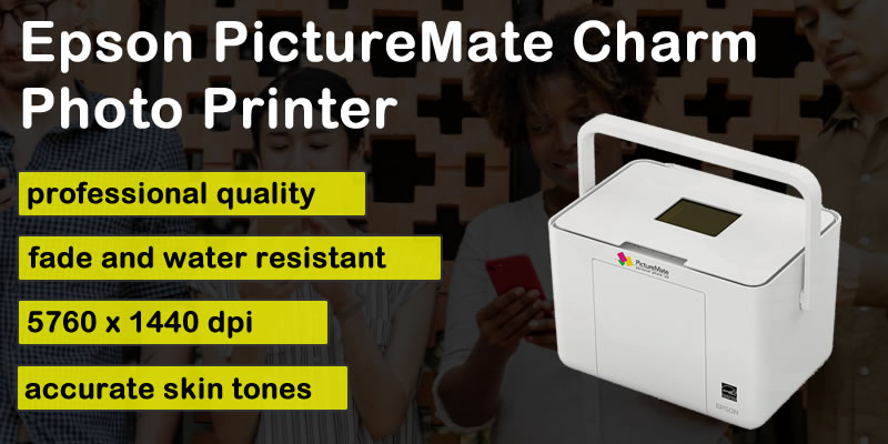 Epson Picture Mate Charm Compact Photo Printer