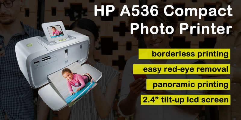 HP A536 Compact Photo Printer