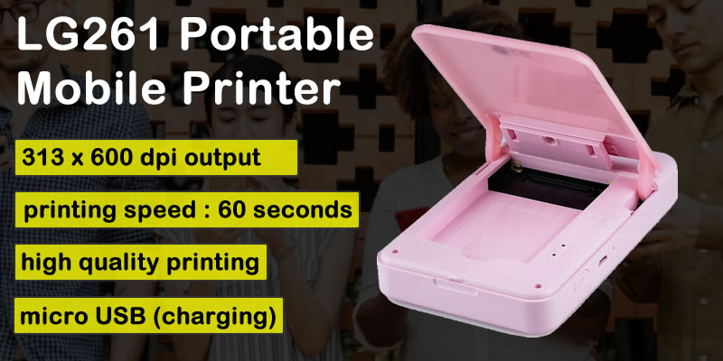 lg261 portable printer