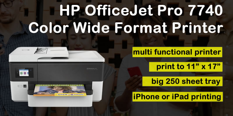 HP OfficeJet Pro Wide Format Printer