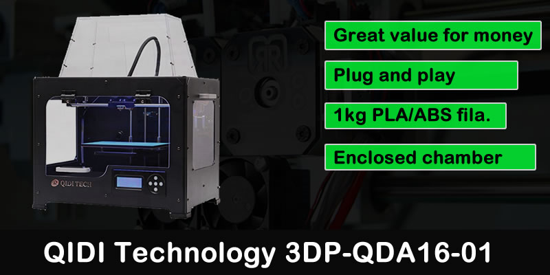 QIDI TECHNOLOGY 3DP QDA16-01