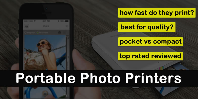 best portable photo printer