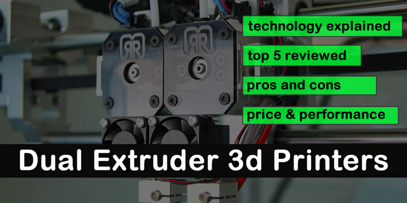 Best Dual Extruder 3D Printer Kit 2019 | QIDI vs Flashforge?