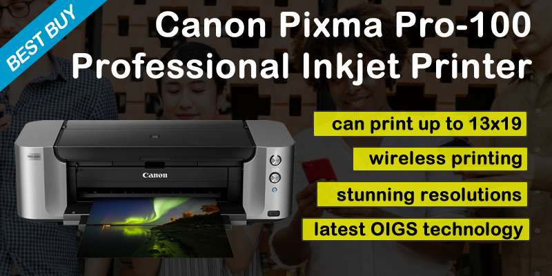 Canon PIXMA Pro-100 Wide format printer